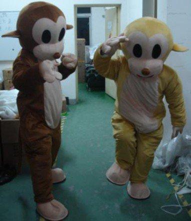 Cartoon Monkey Jumping Props Cartoon Clothing Performance Clothing Monkey Adult Walking Mascot Costume