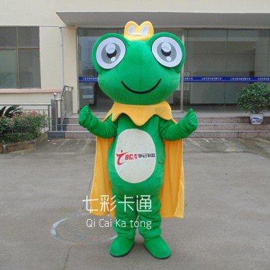 Frog Cartoon Doll Clothing Cartoon Walking Doll Clothing Manufacturers Loading Television Mascot Costume