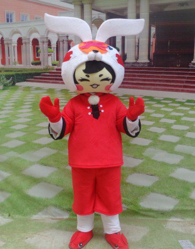 Mascot Bunny Cartoon Doll Clothing Cartoon Walking Doll Clothing Cartoon Show Clothing Doll Clothes Mascot Costume