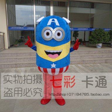Small Yellow Man Cartoon Doll Clothing Apparel Despicable Me Despicable Me Doll Clothes Factory Activity Mascot Costume