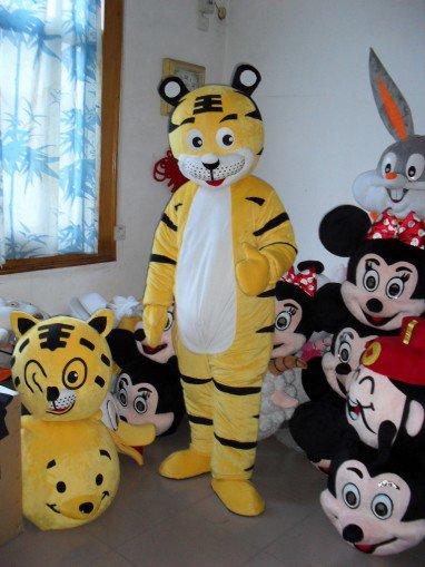 Tiger Cartoon Doll Clothing Cartoon Walking Doll Clothing Cartoon Show Clothing Zodiac Tiger Doll Clothes Mascot Costume