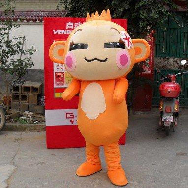 Yau Good Laugh Monkey Cartoon Dolls Walking Cartoon Dolls Clothing Performance Clothing Doll Clothes Quality Mascot Costume