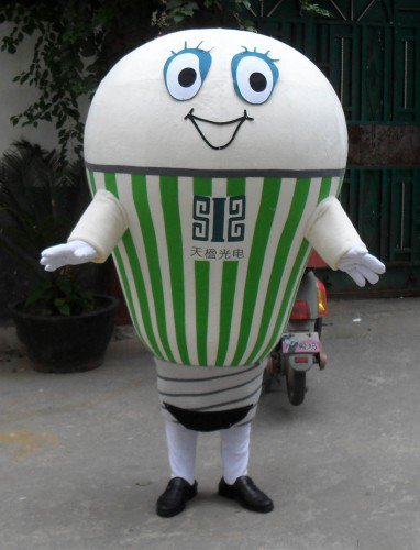Cartoon Doll Clothing Walking Doll Cartoon Clothing Doll Props Enterprise Bulbs Advertising Mascot Mascot Costume
