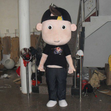 Cartoon Doll Clothing Walking Doll Cartoon Costumes Cartoon Clothing Doll Dolls Black Kid Mascot Costume