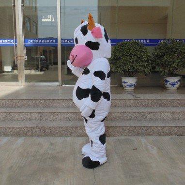 Cows Cartoon Doll Doll Clothing Walking Doll Cartoon Costumes Props Doll Mascot Mascot Costume