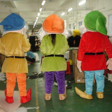 Dwarfs Cartoon Doll Cartoon Walking Doll Clothing Cartoon Dolls Fashion Show Props Mascot Costume