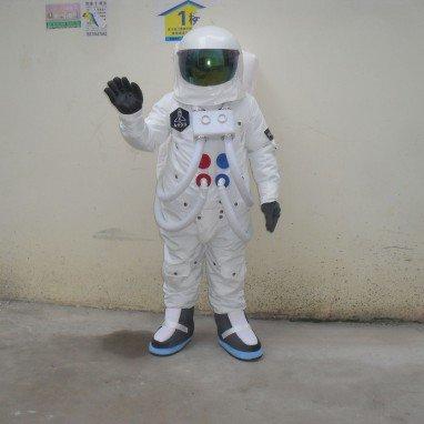 Spacesuit Walking Doll Cartoon Clothing Spacesuit Spacewalk Shenzhou Ten Adult Dress Clothes Mascot Costume