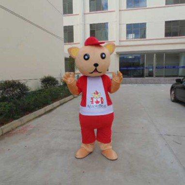 Teddy Bear Cartoon Doll Clothing Cartoon Walking Doll Clothing Cartoon Show Clothing Doll Clothes Mascot Costume
