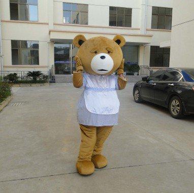Bear Cartoon Dolls Doll Dress Up Halloween Costume Props Adult Bear Walking Doll Clothing Mascot Costume