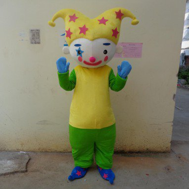 Cartoon Doll Clothing Cartoon Walking Doll Clothing Cartoon Show Clothing Props Clown Doll Clothes Mascot Costume