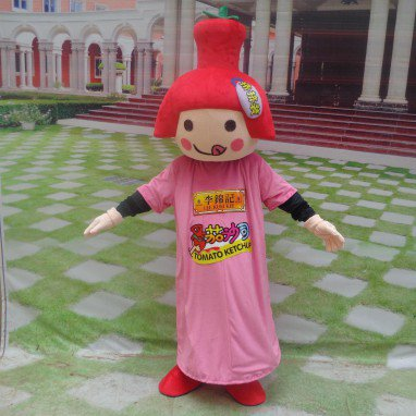 Cartoon Doll Clothing Cartoon Walking Doll Corporate Mascot Costumes Food Advertising