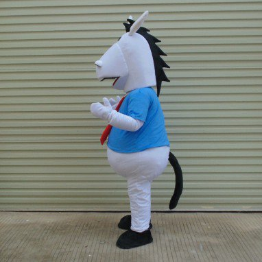 Maca Pass Doll Clothing Zodiac Horse Mascot Costumes Horse Horse Clothing