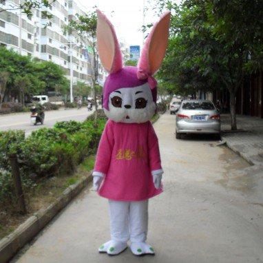Rabbit Cartoon Doll Clothing Cartoon Walking Doll Clothing Cartoon Show Clothing Doll Clothes Mascot Costume