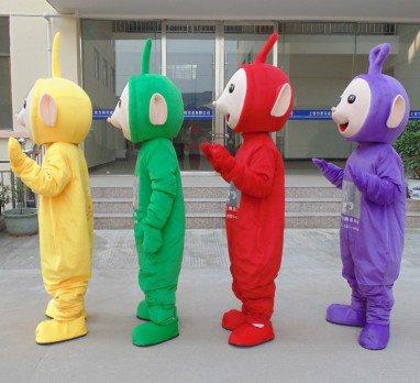 Teletubbies Dolls Walking Cartoon Doll Clothing Adult Cartoon Costumes Performing Props Propaganda Mascot Costume
