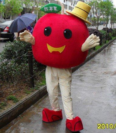 Apple Fruit Cartoon Doll Cartoon Doll Clothing Cartoon Dolls Cartoon Props Performances Promotional Activities Mascot Costume