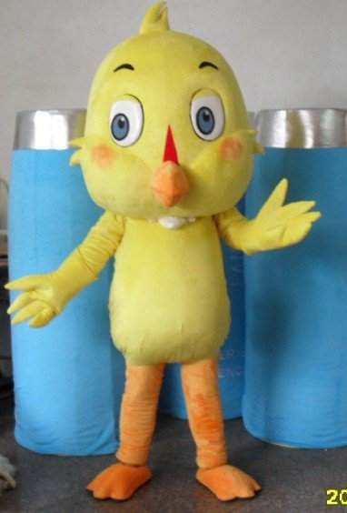Cartoon Doll Clothing Cartoon Walking Doll Clothing Cartoon Show Clothing Plush Doll Doll Small Yellow Chicken Suit Mascot Costume