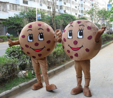 Cartoon Doll Clothing Cartoon Walking Doll Clothing Doll Props Biscuit Corporate Mascot Mascot Costume