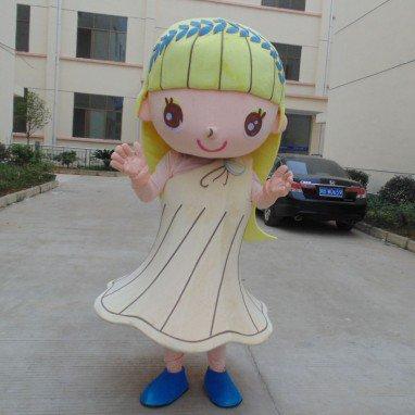 Girl Cartoon Doll Clothing Cartoon Walking Doll Clothing Cartoon Show Clothing Girl Doll Clothes Taiwan Mascot Costume