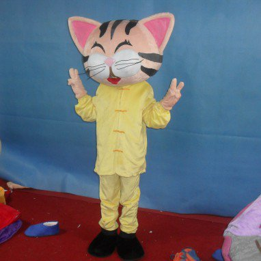 Kitten Plush Doll Clothing Cartoon Walking Doll Cartoon Clothing Cartoon Show Clothing Doll Clothes Mascot Costume