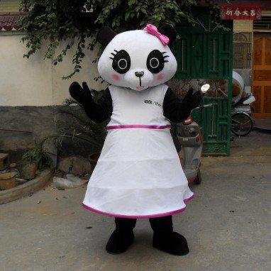 Panda Cartoon Doll Clothing Cartoon Walking Doll Cartoon Costumes Performance Clothing Advertising Mascot Costume