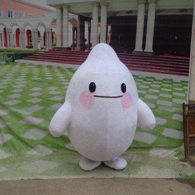 Rice Cute Cartoon Dolls Cartoon Doll Clothing Fashion Show Props Walking Dolls Advertising Cartoon Mascot Costume