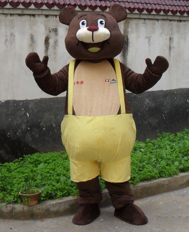 Animal Mascot Costume Cartoon Dolls Dolls Walking Cartoon Bear Bulimia Costume Winnie Advertising