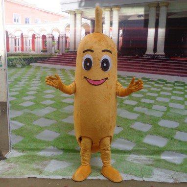 Banana Banana Cartoon Doll Clothing Cartoon Show Clothing Walking Cartoon Dolls Bananas Mascot Costume