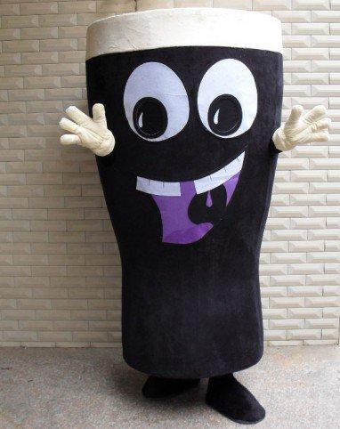 Food and Beverage Cartoon Mascot Dolls Walking Cartoon Doll Clothing Doll Clothing Props Glass Mascot Costume