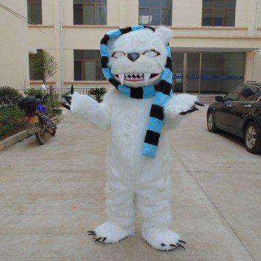 Polar Bear Cartoon Doll Clothing Cartoon Walking Doll Clothing Cartoon Dolls Dolls Props Mascot Costume