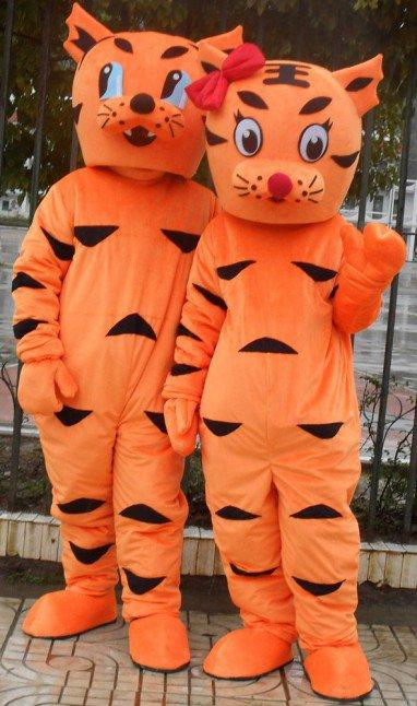 Tiger Cartoon Doll Clothing Cartoon Walking Doll Clothing Cartoon Show Clothing Zodiac Tiger Cartoon Dolls Clothing Mascot Costume