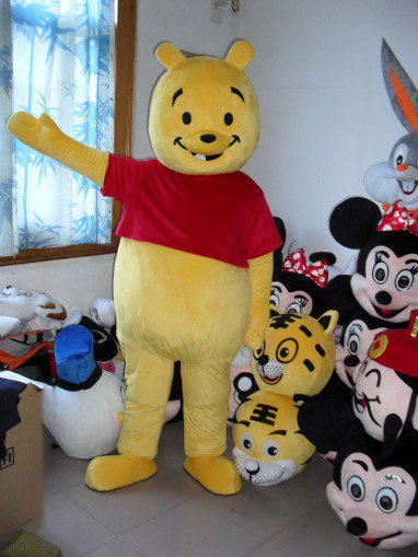 Winnie The Pooh Cartoon Doll Clothing Cartoon Walking Doll Clothing Cartoon Show Clothing Doll Clothes Mascot Costume