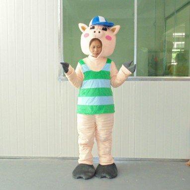 Zodiac Pig Hai Theatrical Costume Dolls Walking Cartoon Animation Clothing Celebration Costumes Mascot Costume