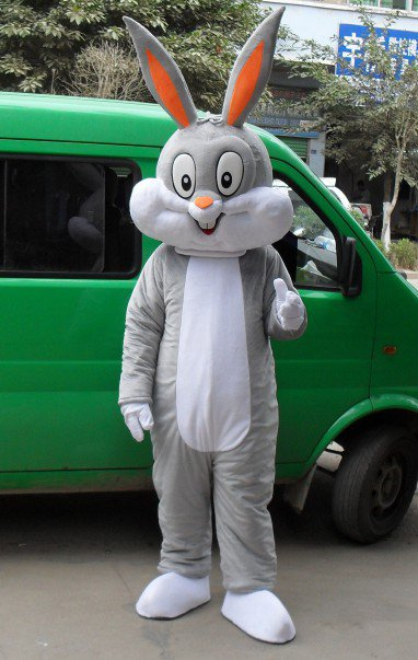 Bugs Bunny Cartoon Dolls Clothing Walking Cartoon Doll Clothing Cartoon Dolls Doll Clothing Props Mascot Costume