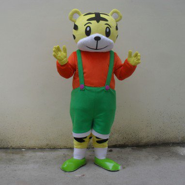 Cartoon Doll Clothing Cartoon Walking Doll Clothing Cartoon Dolls Plush Doll Clothes Performance Clothing Little Tiger Mascot Costume