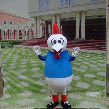 Cartoon Doll Clothing Cartoon Walking Doll Clothing Cartoon Show Clothing Doll Clothes Zodiac Rooster Mascot Mascot Costume