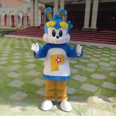 Cartoon Doll Clothing Cartoon Walking Doll Clothing Doll Props Cartoon Rabbit Doll Dress Mascot Costume