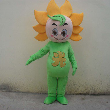 Cartoon Doll Clothing Plant Sunflower Cartoon Walking Doll Clothing Cartoon Show Clothing Doll Clothes Mascot Costume