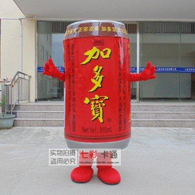 Coca-cola Jdb Advertising Props Cartoon Dolls Dolls Dolls Dolls Advertising Clothing Mascot Costume