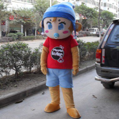 Lucky Cartoon Doll Clothing Cartoon Walking Doll Clothing Cartoon Show Clothing Doll Clothes Mascot Costume
