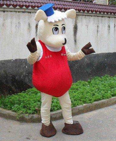 Sheep Cartoon Doll Clothing Cartoon Walking Doll Clothing Cartoon Show Clothing Doll Clothes Genius Sheep Mascot Costume