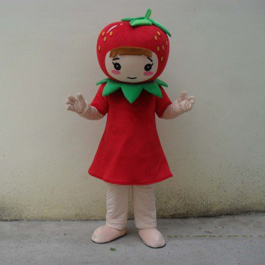 Strawberry Fruit Cartoon Doll Clothing Cartoon Walking Doll Clothing Cartoon Show Clothing Doll Clothes Mascot Costume