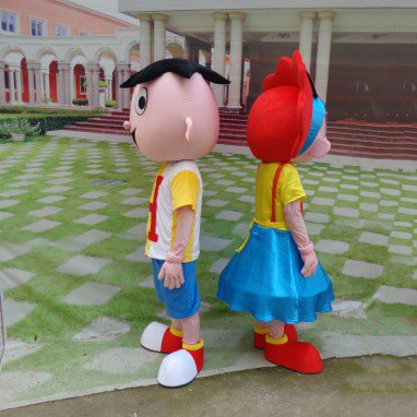 Wang Zi Christmas Performance Clothing Doll Dolls Walking Cartoon Doll Clothing Cartoon Costumes For Adults Mascot Costume