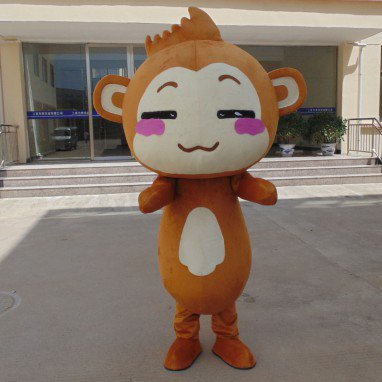 Youxihou Cute Cartoon Doll Clothing Cartoon Walking Doll Cartoon Clothing Doll Dress Mascot Costume