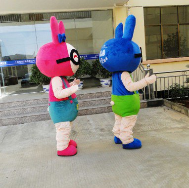 Cartoon Doll Clothing Doll Clothes Doll Dress Its Corporate Mascot Costume Stage Performances