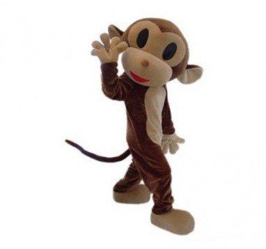 Cartoon Doll Clothing Doll Clothing Cartoon Monkey Jumping Zodiac Monkey Doll Clothing Mascot Costume