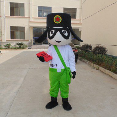 Lei Feng Xia Performance Props Adult Dolls Dolls Advertising Mascot Cartoon Clothing Production Mascot Costume