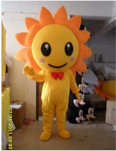 Manufacturers Cartoon Doll Clothing Doll Clothing Cartoon Sunflower Sunflowers Cartoon Doll To Japan Mascot Costume