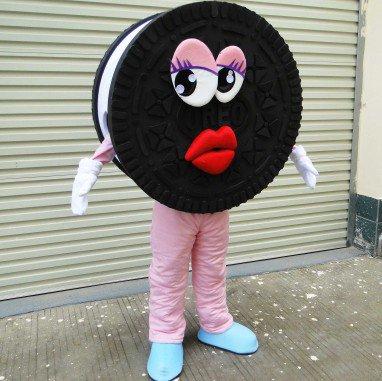 Oreo Cookies Enterprise Mascot Cartoon Dolls Doll Clothing Events Costumes Mascot Costume