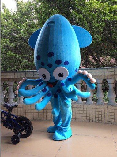 Squid Octopus Cartoon Dolls Cartoon Clothing Doll Clothes Clothing Doll Clothing Cartoon Octopus Mascot Costume