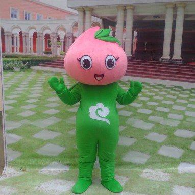 Cartoon Cartoon Doll Clothing Doll Clothing Doll Clothing Peach Peach Fruit Doll Mascot Costume